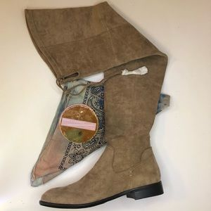 Dolce Vita Over The Knee Taupe Boots